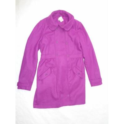 170-es lila szövetkabát - H&M