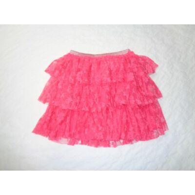164-es rózsaszín fodros szoknya - Pepco