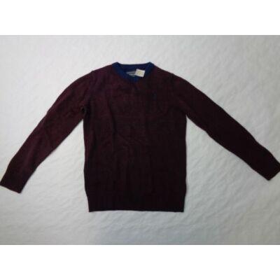 134-140-es bordó kötött pulóver - C&A