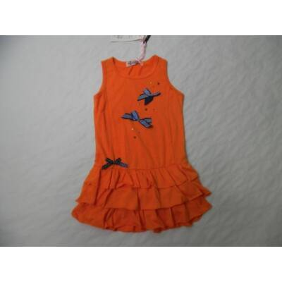 104-es narancssárga masnis ruha - Arino - ÚJ