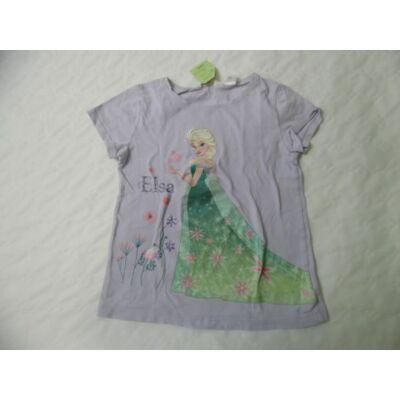 122-128-as lila póló - Frozen, Jégvarázs