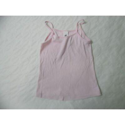122-128-as rózsaszín spagettipántos póló - C&A