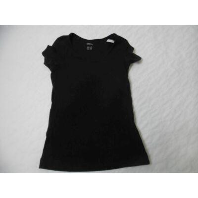 Női S-es fekete póló - Esmara