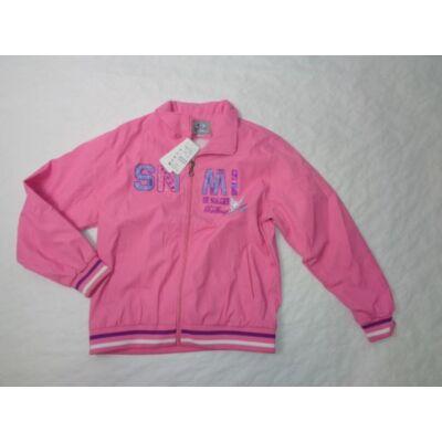 158-as rózsaszín átmeneti kabát - ÚJ