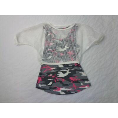 128-as duplarétegű lány póló - ÚJ