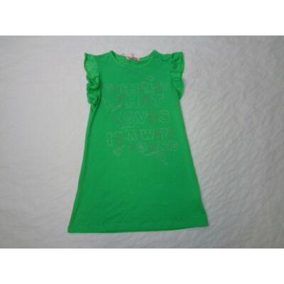 158-as zöld pamut tunika - ÚJ