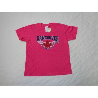 110-es pink feliratos póló - Gildan