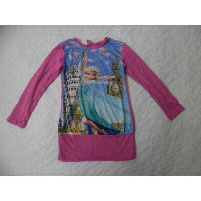 104-es rózsaszín tunika - Frozen, Jégvarázs