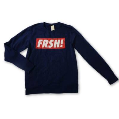 Férfi L-es sötétkék feliratos pulcsi - Fishbone - felicity.hu ... 35bb9a77ad