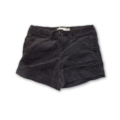 104-es szürke lány sztreccs mikrokord short - Zara