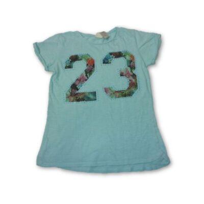 128-as zöld számos lány póló - Zara