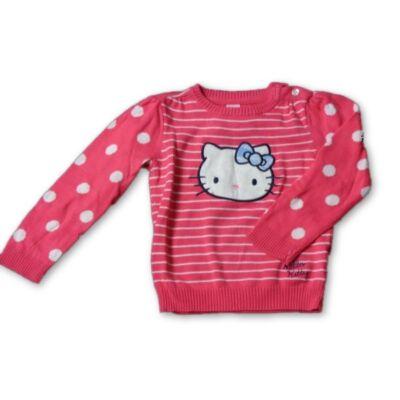 86-os rózsaszín kötött pulóver - Hello Kitty