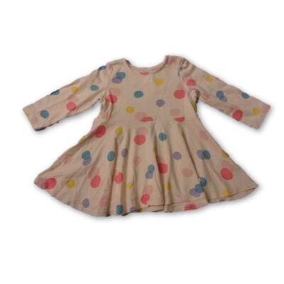 74-es rózsaszín pöttyös ruha - H&M