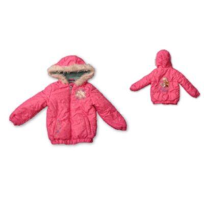 98-as rózsaszín télikabát - Frozen, Jégvarázs