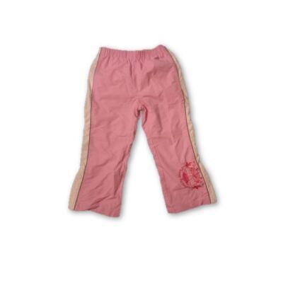 110-es rózsaszín pamut bélésű nadrág