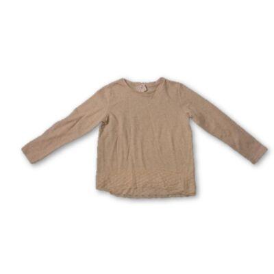 122-es drapp csipkés aljú pulcsi - Pepco