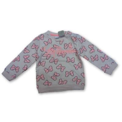92-es rózsaszín masnis pulóver - Minnie Egér