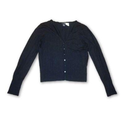Női L-es fekete kardigán - H M - felicity.hu használt ruha webáruház ... 411c1435af