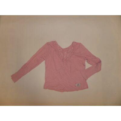 98-104-es rózsaszín pamutfelső - H&M