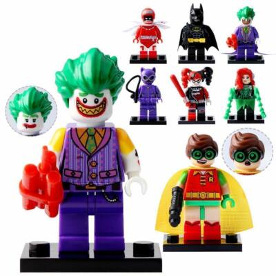 8 db minifigura egyben - Batman - ÚJ