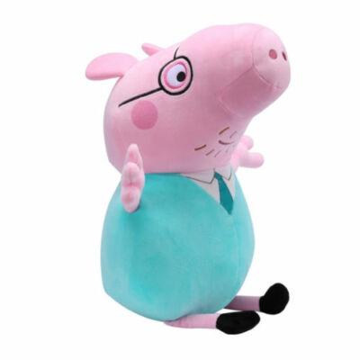 20 cm-es plüss Peppa Papa - Peppa Pig - ÚJ