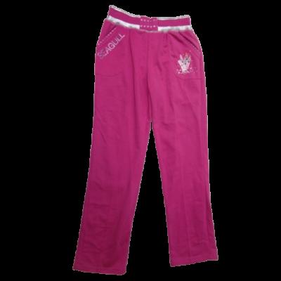 152-es rózsaszín rúzsos tréningalsó - ÚJ