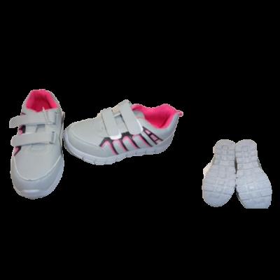 32-es szürke-pink sportcipő - ÚJ
