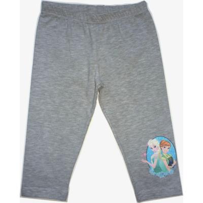 116-os szürke térdig érő leggings - Frozen, Jégvarázs - ÚJ