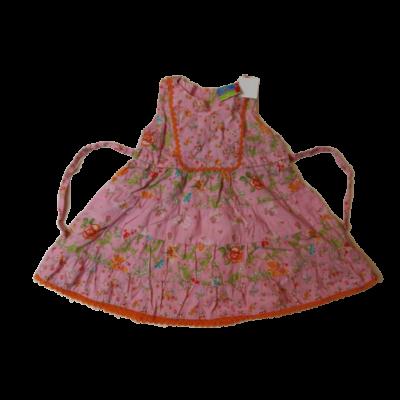 86-os rózsaszín virágos ruha - Topolino