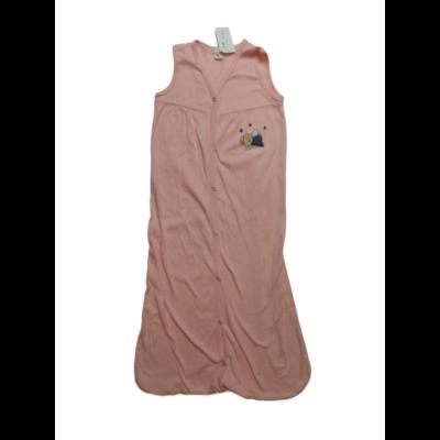 90 cm hosszú rózsaszín pamut hálózsák