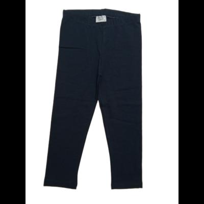140-es sötétkék háromnegyedes leggings - ÚJ