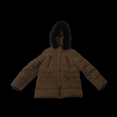 152-es khaki télikabát - Zara