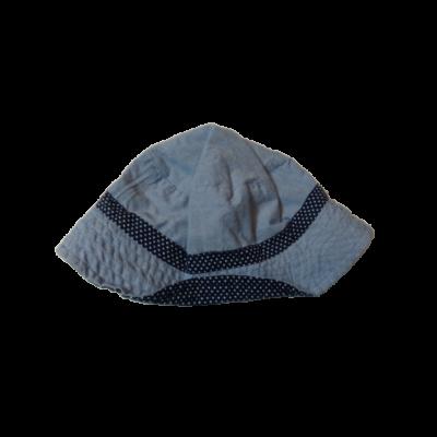 46-48 cm-es kék kifordítható nyári kalap
