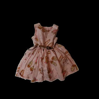 74-es rózsaszín cipós ujjatlan ruha - Next