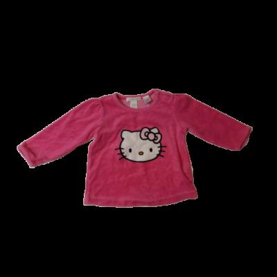 74-es rózsaszín plüss pulóver - Hello Kitty