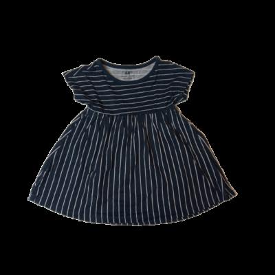 86-os kék-fehér csíkos ruha - H&M