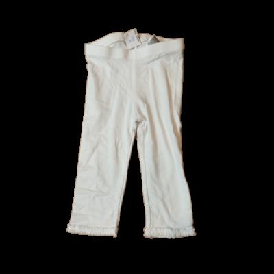 98-as fehér leggings - H&M