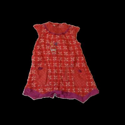 86-os piros virágos ruha - Petits