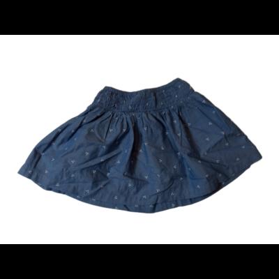 98-104-es kék mintás szoknya - H&M