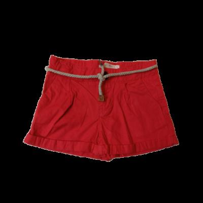 104-es piros vászonshort, rövidnadrág - Zara