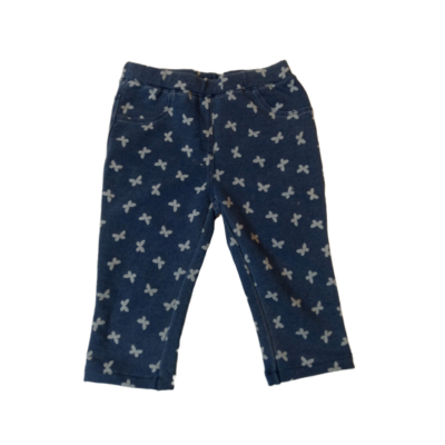 98-as kék lepkés capri nadrág - Lupilu