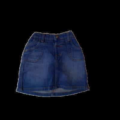 104-110-es kék farmerszoknya - Marks & Spencer