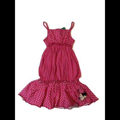104-es rózsaszín pöttyös ruha - Minnie Egér