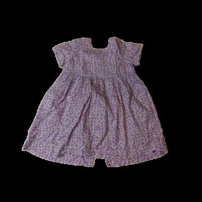 110-es lila virágos ruha