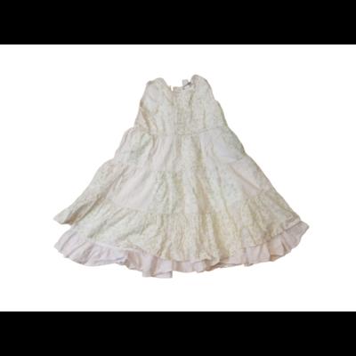 92-98-as rózsaszín virágos ujjatlan ruha - H&M