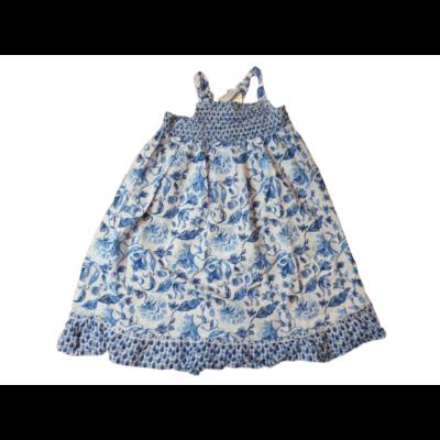 104-es kék-fehér virágos nyári ruha - H&M
