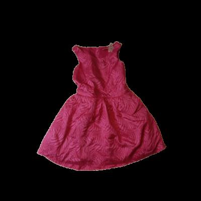 140-es rózsaszín tigrismintás selyem hatású alkalmi ruha - New Look