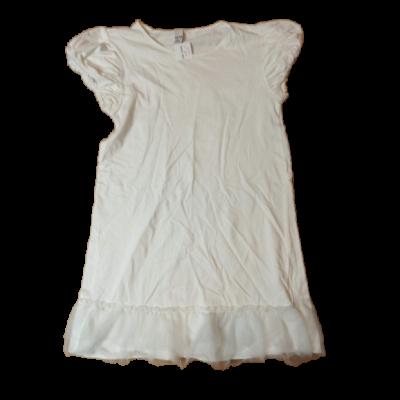 164-es fehér, alján tüllös ruha - Zara