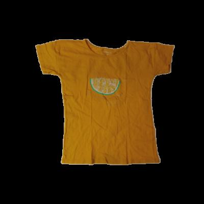 152-es mustársárga citromos póló - In Extenso
