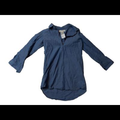 128-as kék puha farmer tunika - H&M